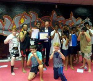 Gavin-Barwell-visits-SN-Combact-Academy-Gym-3